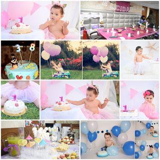 reportajes de cumpleaños para niños y album