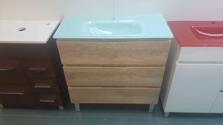 Mueble de baño 80x35 Mod N016