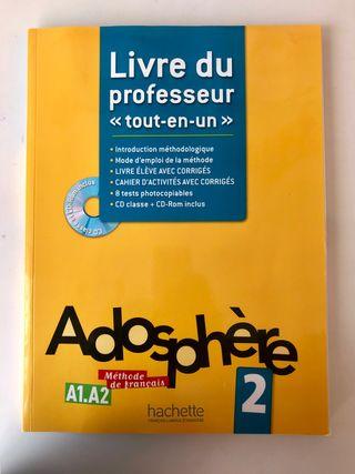 Libro del Profesor de Francés