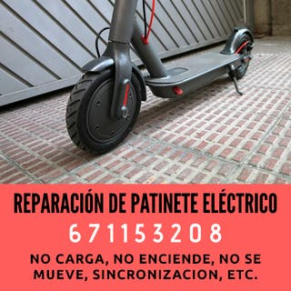 Reparar patinete electrixo