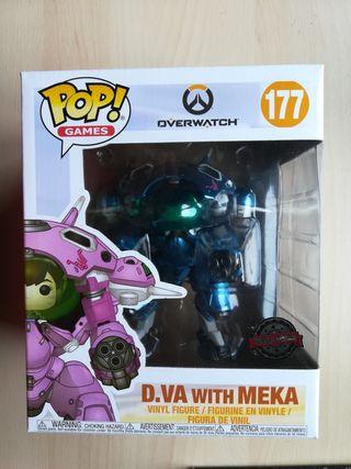 Funko POP Exclusive D.Va with Meka
