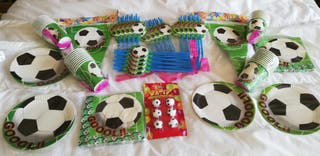 Pack/Lote fiesta infantil fútbol