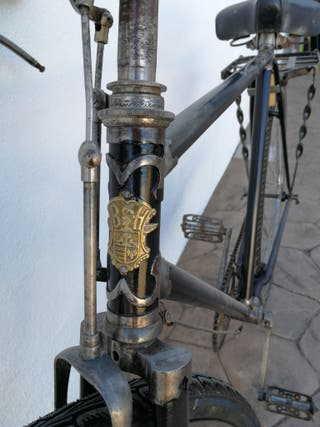 Bicicleta frenos de varilla
