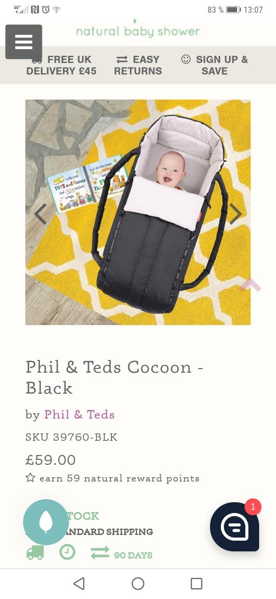 phil and teds coccoon
