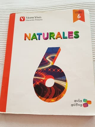 libro 6° primaria naturales vicens vives