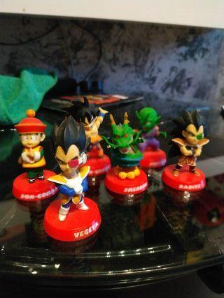 set de figuras dragón ball