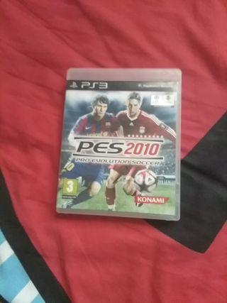 pes2010 ps3 juego