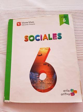 libro sociales 6° primaria vivens vives