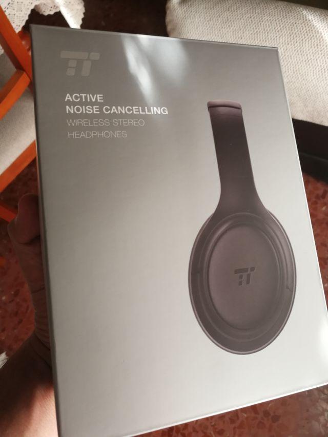 Auriculares bluetooth 5.0 cancelación ruido