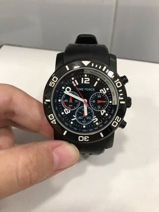 Reloj deportivo negro Time Force