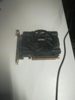 Nvidia Gforce GTX 650 MSI edition