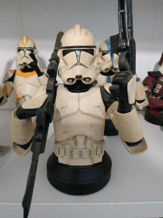 Busto Clone Trooper White Episode III Gentle Giant