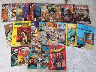 Comics Marvel y otros