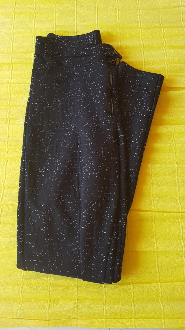 Leggings pantalón deportivo elástico mujer negro
