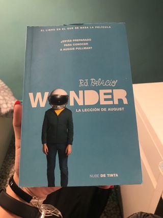 Libro Wonder la lección de August