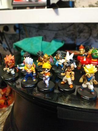 set figuras miniatura dragón ball