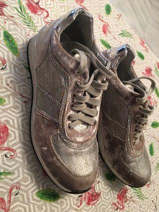 Zapatillas terciopelo numero 37