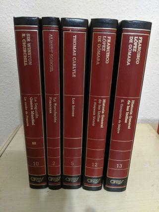 Libros antiguos Biblioteca de Historia