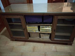 mueble TV o Auxiliar madera