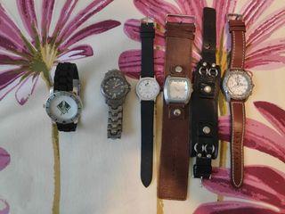 Lote relojes de caballero