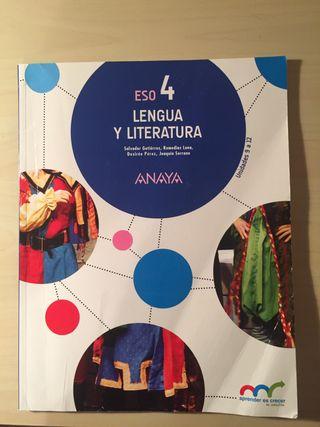 Libro de Lengua y Literatura Castellana 4ºESO