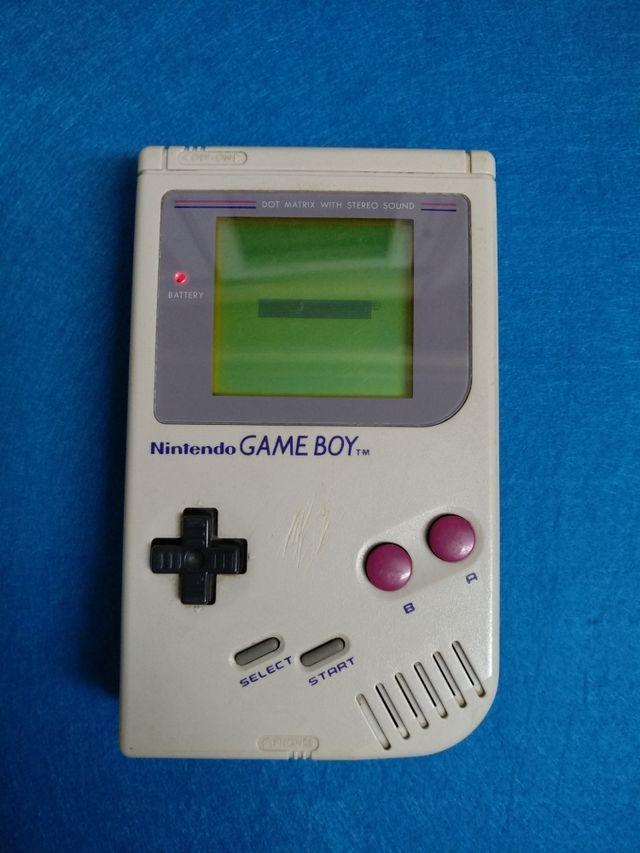 Consola Nintendo Game Boy dmg (Clasica)