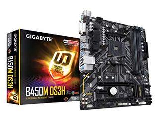 Placa base AM4 Gigabyte B450M DS3H
