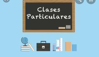 CLASES PARTICULARES Y NIÑERA APROVECHA LOS PRECIO