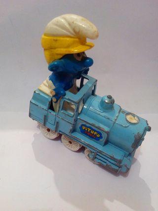 Pitufo tren guisval