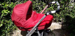 capazo, maxicosi, silla y ruedas carro bebé