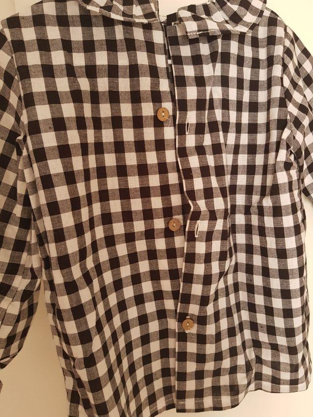 camisa blusa BABY PARIS 4años vichy