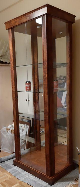 vitrina cristal salon expositor