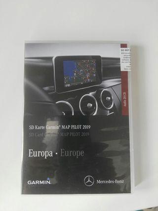 Navegador Garmin tarjeta sd para Mercedes.