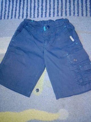 Pantalón quechua niño cintura ajustable
