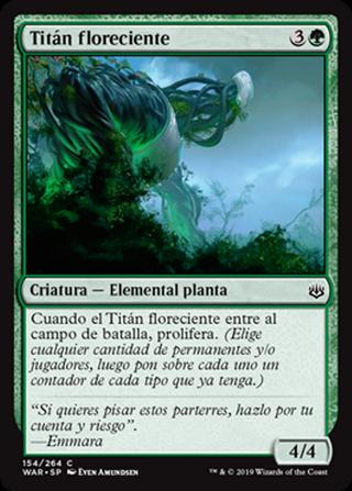Titán floreciente - MTG - CARTAS MAGIC - X2