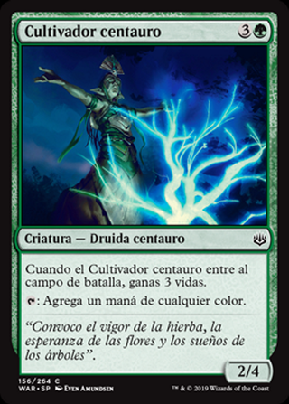 Cultivador centauro - MTG - CARTAS MAGIC - X1