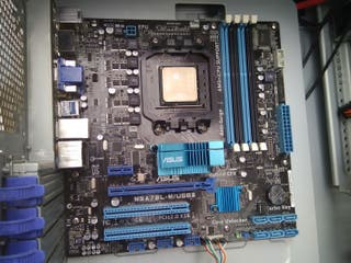 PLACA BASE AM3 ASUS M5A78L-M/USB3 + CPU