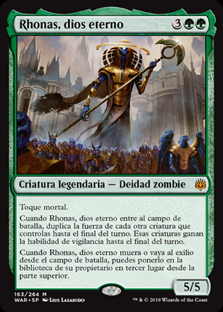 Rhonas, dios eterno - MTG - CARTAS MAGIC - X1