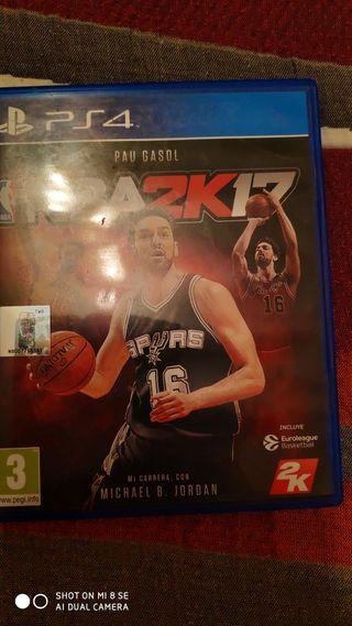 NBA 2017 PARA PS4