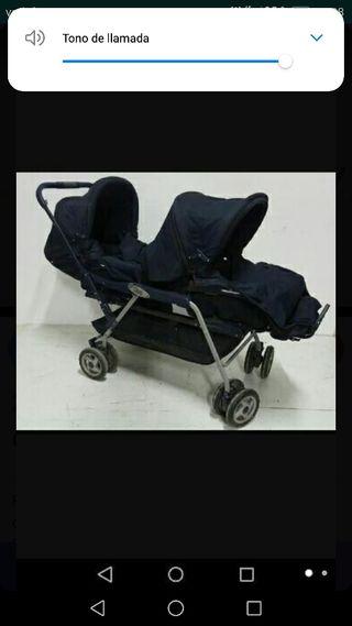 carro gemelar de prenatal
