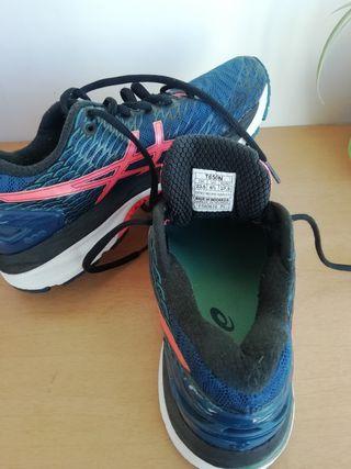 Zapatillas marca asics