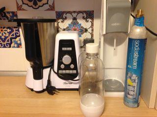 sodastream y robot de cocina
