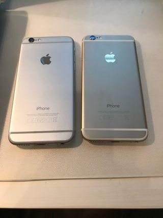 2 IPhone 6 16gb y 64gb