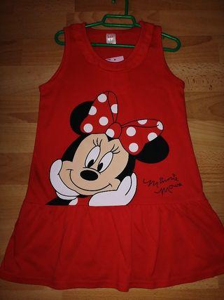vestidos a estrenar Minnie 3 y 4 años
