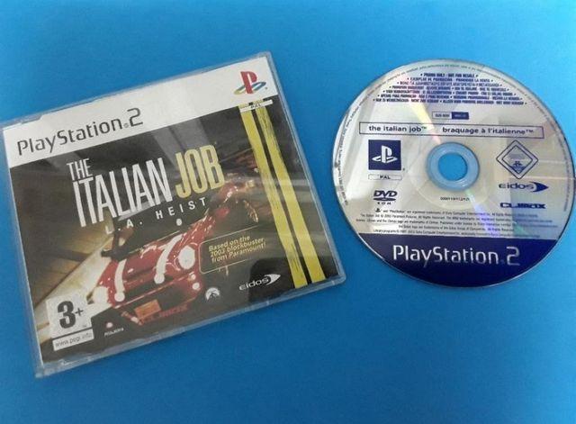 Ps2 - The Italian Job (version promo)