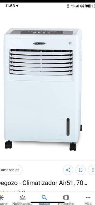 Climatizador ORBEEGOZO evaporativo fríocaliente