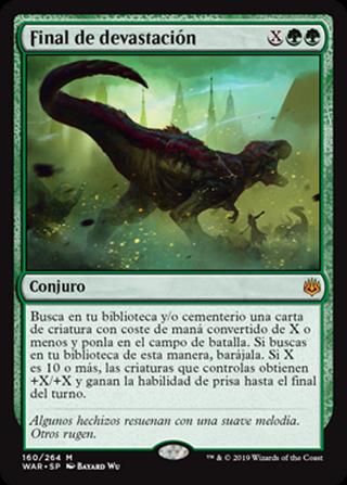 Final de devastación - MTG - CARTAS MAGIC - X1