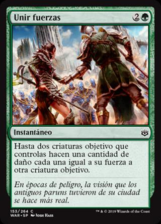 Unir fuerzas - MTG - CARTAS MAGIC - X1