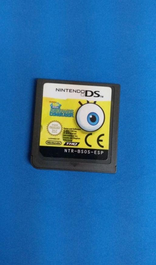 Nintendo ds - Bob Esponja atrapados en congelador