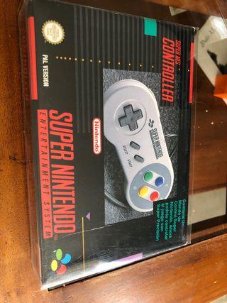 Mando súper Nintendo pal españa